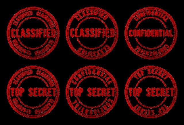 """pieczęcie """"top secret"""""""